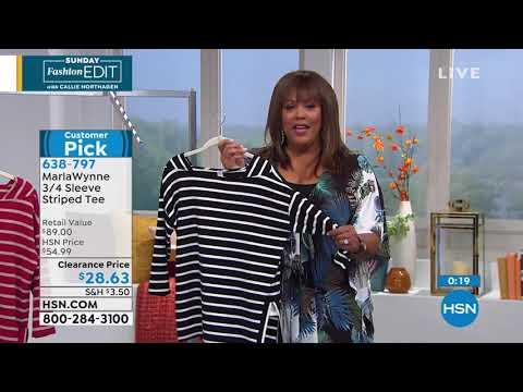 HSN   Sunday Fashion Edit with Callie Northagen . http://bit.ly/2mpOGSN