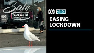 Melbourne starts on the long road out of lockdown | 7.30