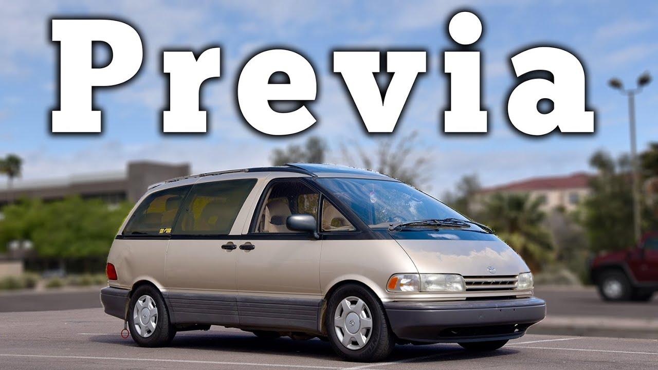 1993 Toyota Previa  Regular Car Reviews