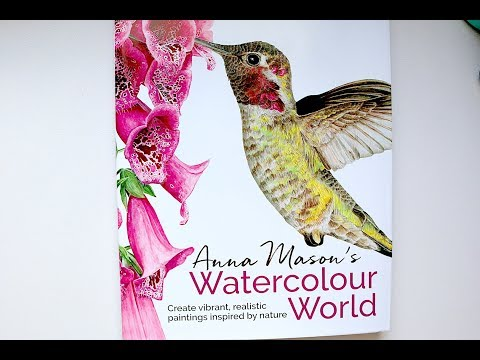 Anna Mason's Watercolour World | Book Review