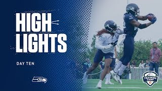 Seahawks 2019 Training Camp Day 10 Highlights