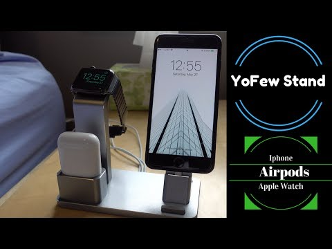 Yofew Stand for the Apple Watch, iPhone and AirPods!!