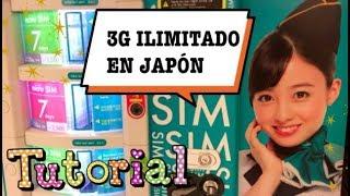 TUTORIAL: Tarjeta SIM Japonesa para INTERNET ILIMITADO