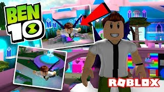 BEN 10 BECOMES A FAIRY IN ROBLOX?! (Winx High School)