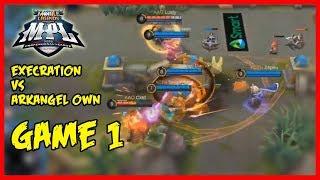 Execration vs ArkAngel Own | MPL-PH Season2 Game1