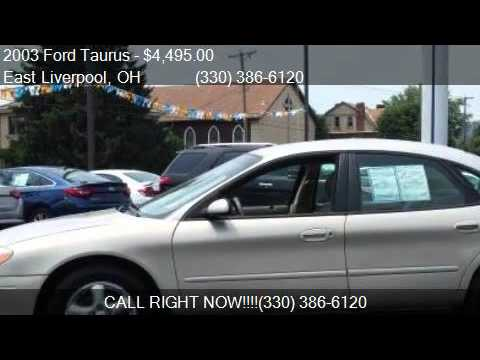 2003 Ford Taurus SES 4dr Sedan for sale in East Liverpool, O