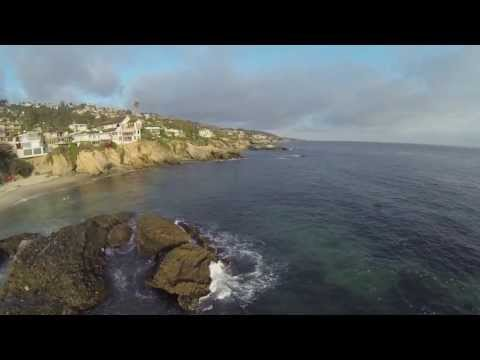 Laguna Beach California Coastal Flight by Motionlenz GoPro Black DJI Phantom