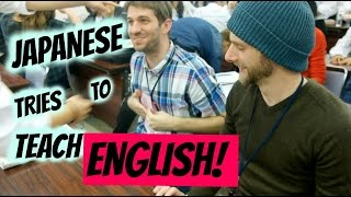 Japanese Students Teaching English to Native English Speakers  | Euodias