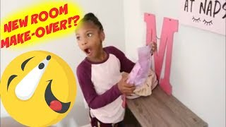 SUPRISING KIDS THEIR NEW ROOM MAKE-OVER !!!!