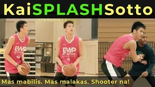 KAI SOTTO SPLASHING Jumpers! | Latest Workout with Trainer Nick Stapleton