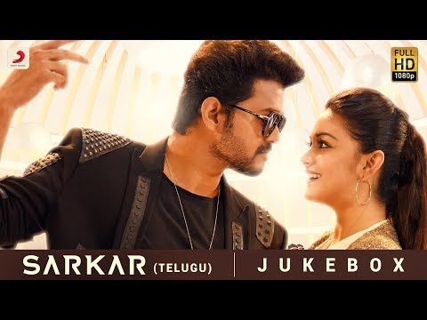 sarkar-telugu---jukebox-|-thalapathy-vijay-|-a-.r.-rahman-|-a.r-murugadoss