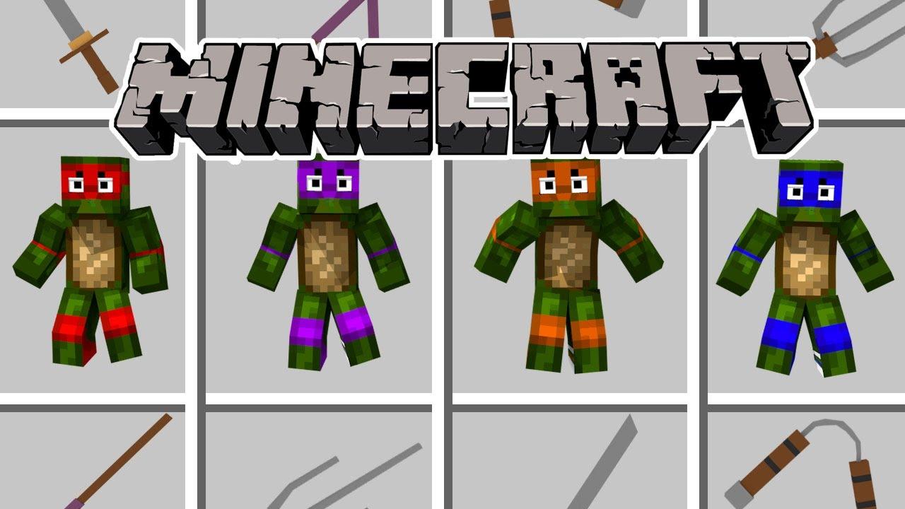 Minecraft Teenage Mutant Ninja Turtles Need Help Tmnt Mod