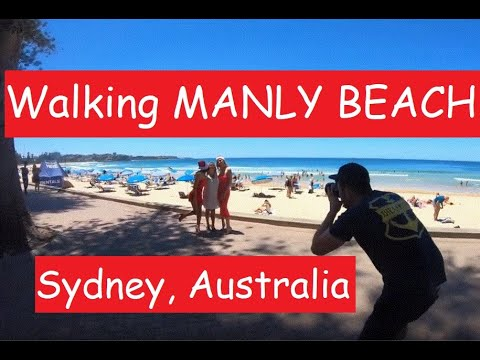 WALKING Manly Beach | Sydney, Australia  (w/GoPro7 Camera)