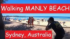 WALKING Manly Beach | Sydney, Australia  (w/GoPro7 Camera)