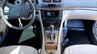 Коврики в салон для Mercedes Benz W211