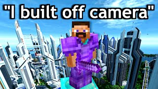 minecraft 100 day videos be like