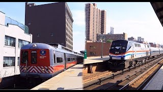 Metro-North / Amtrak/MARC: 2 Hour+ PM Train Action at 125th St RR (M2, M3, M7, M8, P32, MARC)