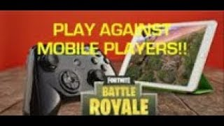How To Get On Mobile Servers While On Console!! (EASY WINS) | Fortnite