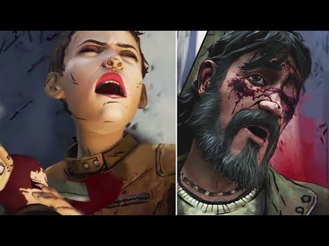 Clem Shoots Kenny vs Let Kenny Kill Jane -All Choices- The Walking Dead Mp3