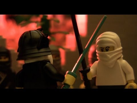 Legend of the Samurai-Ninja (LEGO stop-motion)