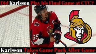 NHL Trade Rumours 2018 - Karlsson played last game for Senators?