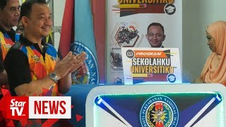 Maszlee urges more universities to get involve in Sekolahku Universitiku programme
