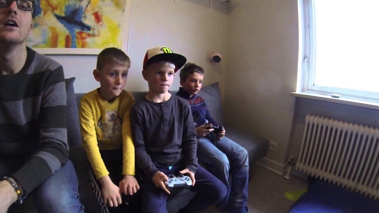 Ps Hygge Med Skolekammerater I Julen 2014 Youtube
