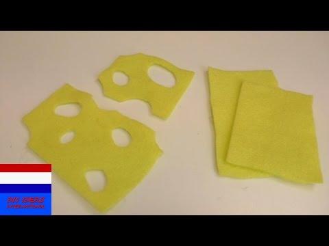slinger van papieren hartjes | leuk als cadeau of decoratie voor Valentijn | cadeau-idee