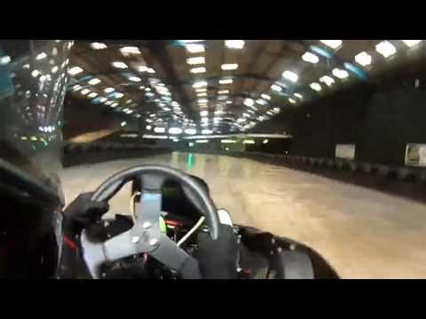Jack Bethell Go Karting at TeamSport Brighton