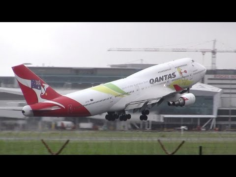 Plane Spotting at Sydney Airport - Tower Mound (compilation) ✈