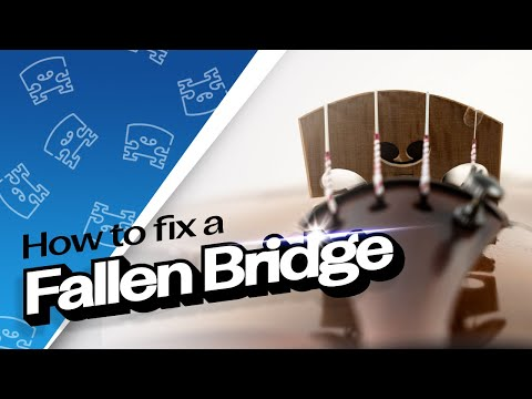 SHAR Workshop: How To Fix a Fallen Violin Bridge