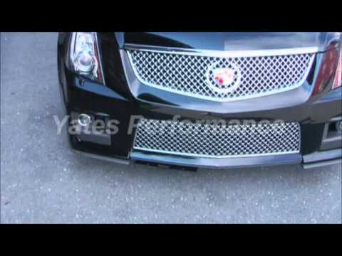 & Cadillac CTS-V Show-N-Go Retractable License Plate Frame - YouTube