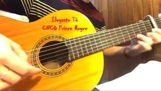 LLEGASTE TU CNCO Y PRINCE ROYCE cover guitarra fingerstyle