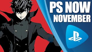 Playstation Now New Ps4 Games   November 2019