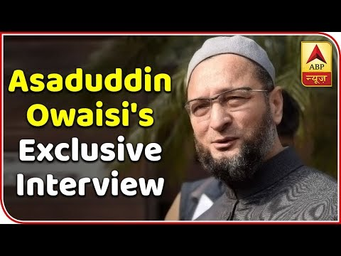 A Glimpse Of Asaduddin Owaisi's Exclusive Interview Going On-Air On 12th Jan  | ABP News