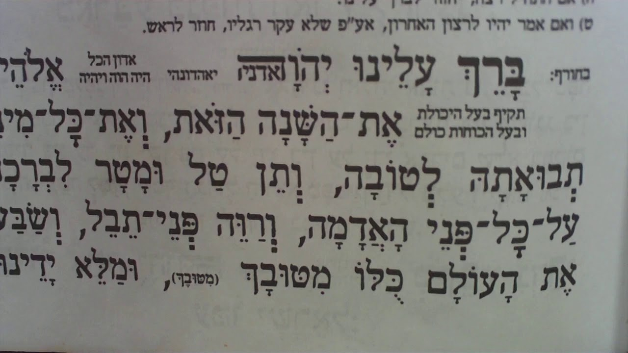חובה להפיץץץ! שינויים שחלים מהיום בערבית בתפילת 18 וכל הכללים אם טעה (וידוי, משיב הרוח ועוד)