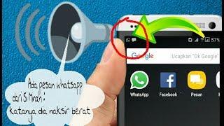 Cara Agar Android Mengucapkan Semua Pesan Masuk Menggunakan Bahasa Indonesia