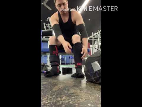 How to put on tight SBD knee sleeves