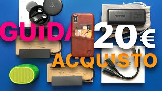 Poche idee? 💻 5 Gadget TECH 20€: Aukey, Cover iPhone, Speaker bluetooth, Cuffie TWS