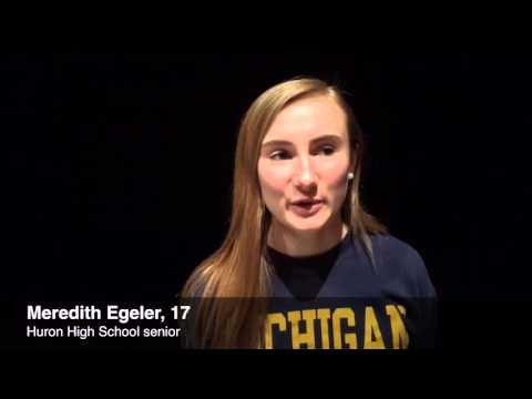 Huron High Young Democrats discuss 2016 election