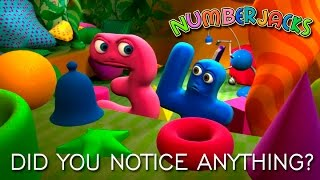 NUMBERJACKS | Did You Notice Anything? | S2E5
