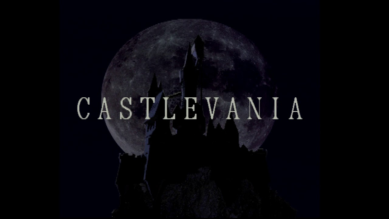 Castlevania Symphony Of The Night Psone Rgb Test Footage Youtube