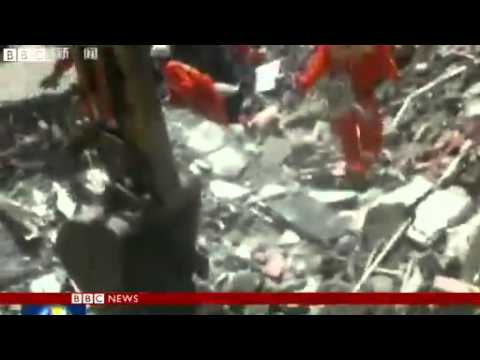 China earthquake- Sichuan hit by powerful quake