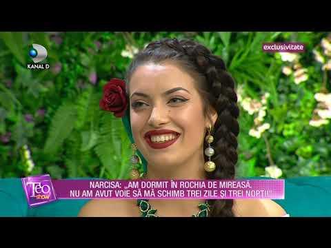 Teo Show (18.05.2018) - Narcisa , cea mai frumoasa artista de etnie roma! Partea 4