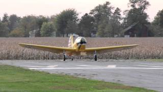 This is the First Flight of a Fairchild PT-26A Cornell after it has...