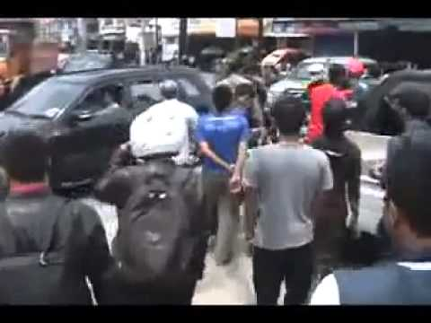 Indonesian police brutality