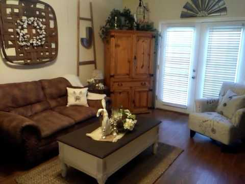 Farmhouse French Country Living Room Tour Small Es