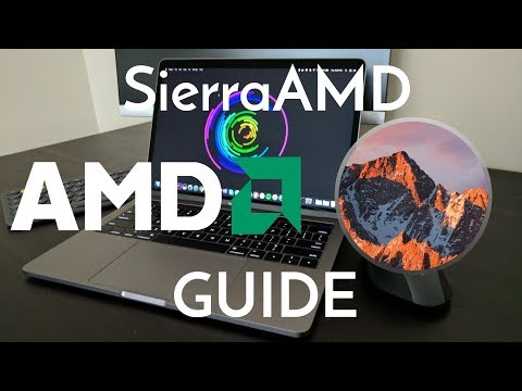 The Easiest Way to Install macOS Sierra on an AMD Computer