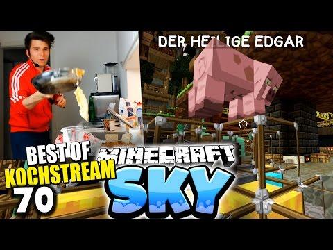 EDGARS GEFÄHRLICHE RETTUNG! & HIGHLIGHTS AUS DEM KOCH LIVESTREAM! ✪ Minecraft Sky #70 | Paluten - Видео из Майнкрафт (Minecraft)