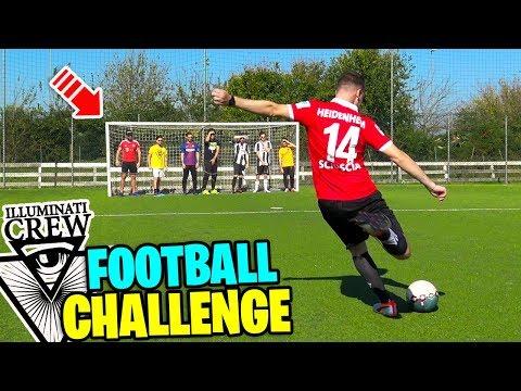 ILLUMINATI CREW FOOTBALL CHALLENGE!!